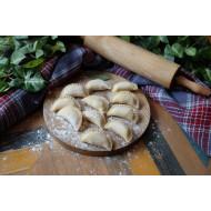 П/ф вареники с картофелем, тыквой и беконом