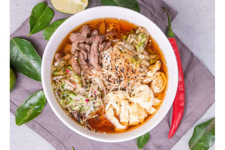 Холодный суп Куксу