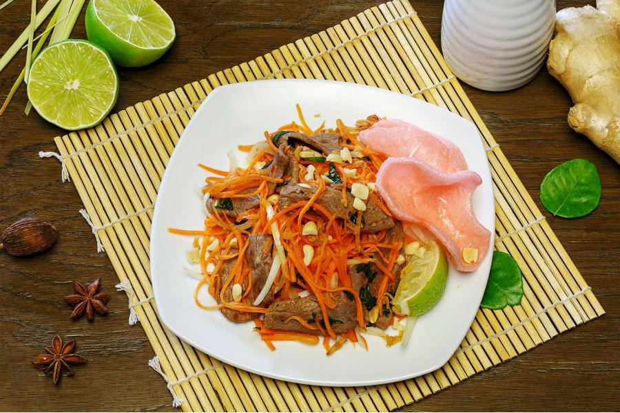 Салат с говядиной Ли Си Цын